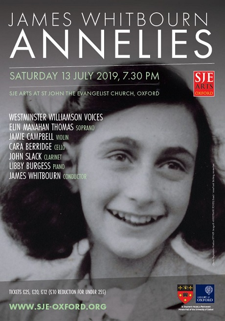 ANNELIES - James Whitbourn