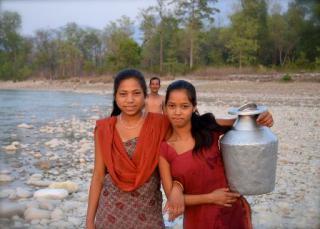 shurkhet water collection nepal smaller2